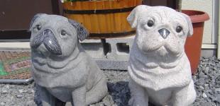 石の置物❝番犬たち❞
